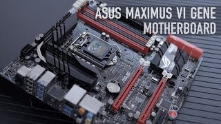 ASUS Maximus VI Gene mATX Motherboard Overview