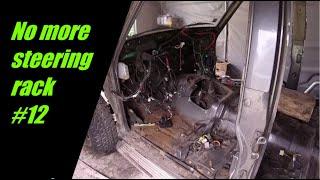 Nissan Patrol Y60 restoration | Removing steering rack and small stuff #12