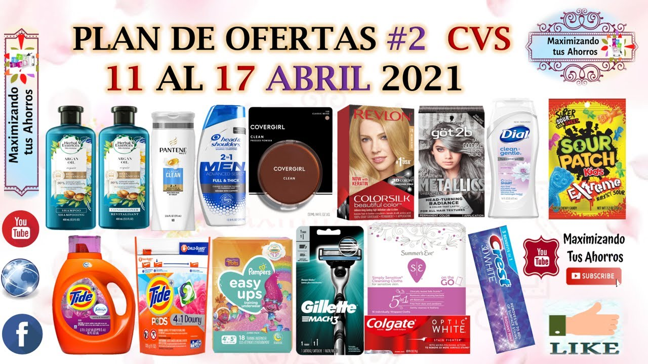 Plan de Ofertas #2 CVS 👉4/11/21 al 4/17/21