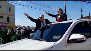 Presidente Jair Bolsonaro chega a Caxias do Sul / RS