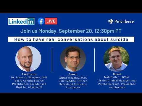 How to have real conversations about suicide