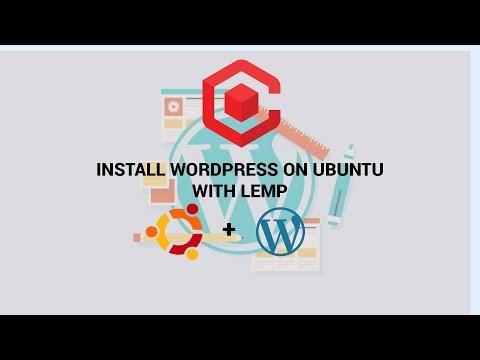 Install Wordpress On Ubuntu 2018 With LEMP ( Linux, Nginx, MySQL, PHP)