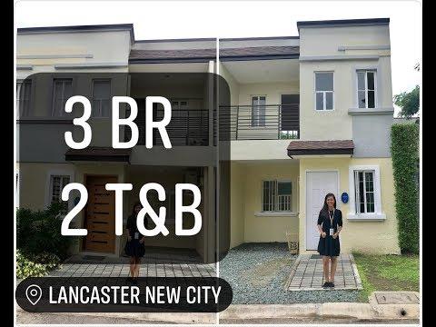 Thea 3 Bedrooms Townhouse With Carport In Lancaster Cavite Near Metro Manila