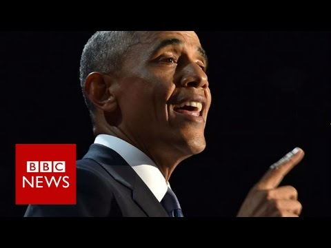 Barack Obama farewell speech highlights -...