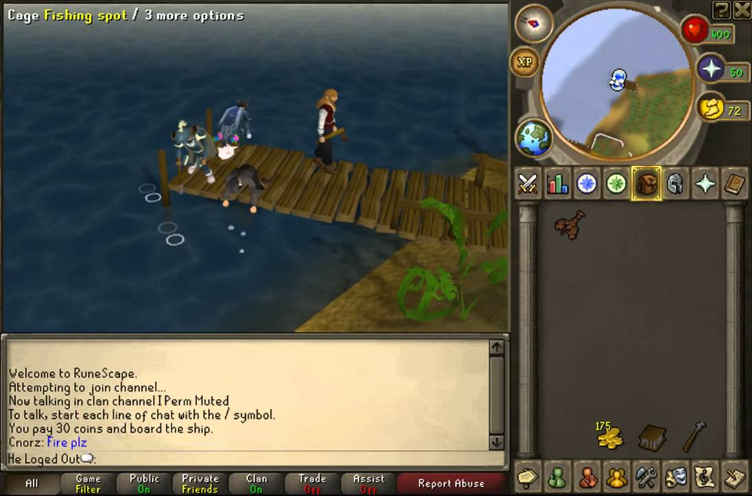 Runescape Karamja Lobster Fishing And noting! (For F2p) - YouTube