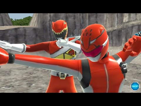 Super Sentai Legend Wars: Red Buster and Toq #1 Passing the Torch Superskills (Hand Off)