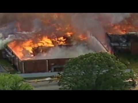 Spring's Fort Mill Plant fire June 28, 1988