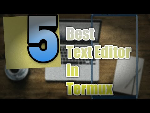 5 Best Text Editor In Termux   Text Editors For Running Python Scripts