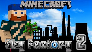 Minecraft | Sky Factory 2 | #10 FLOATING IN THE NETHER