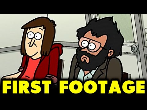 CLOSE ENOUGH FIRST FOOTAGE  NEW ANIMATED SERIES FROM J.G. QUINTEL THE CREATOR OF REGULAR