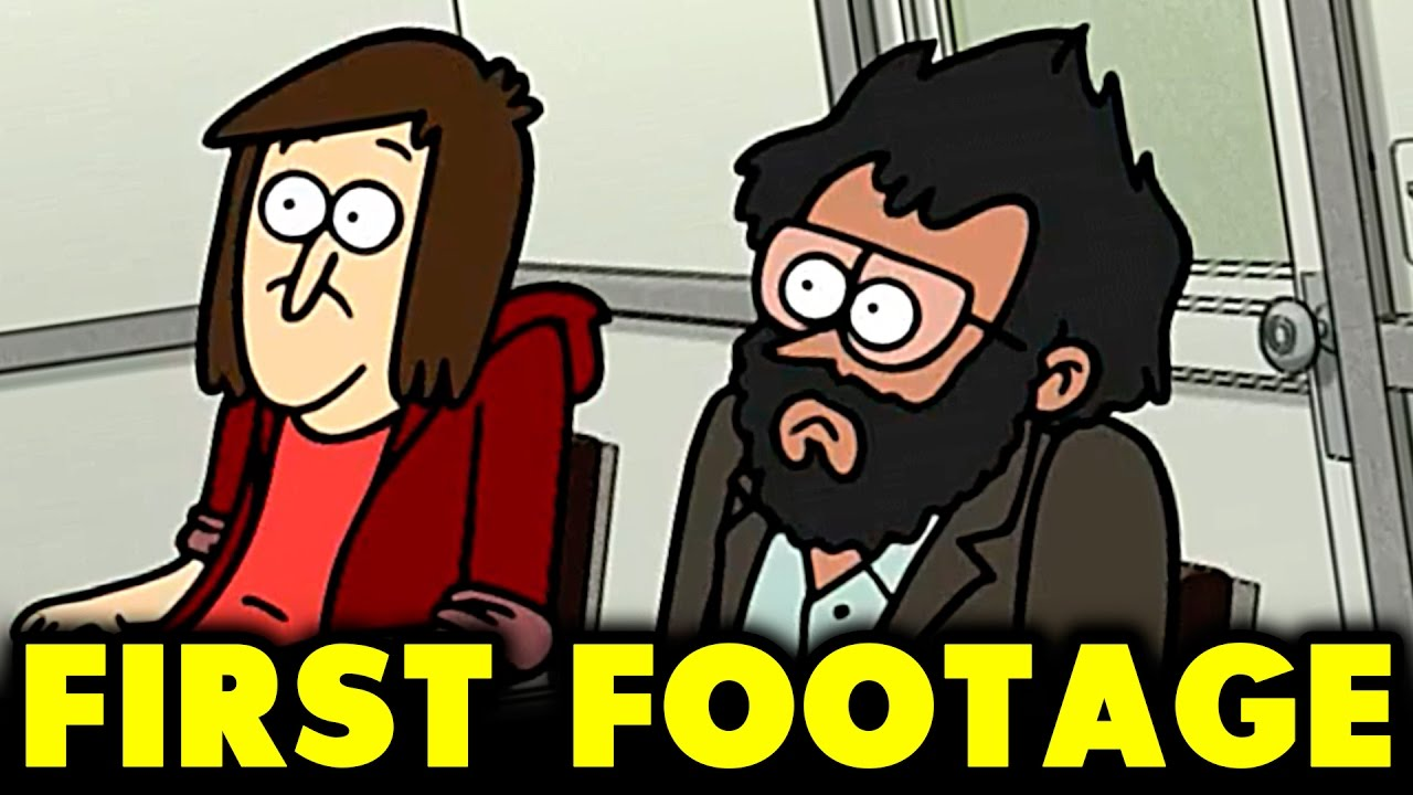 CLOSE ENOUGH FIRST FOOTAGE - NEW ANIMATED SERIES FROM J.G. QUINTEL (THE  CREATOR OF REGULAR SHOW) ea4c38dc8