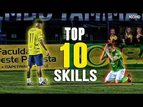 Neymar - Invisible ● Top 10 Skills ● Magic Skills and Tricks ● 2016-2017 HD