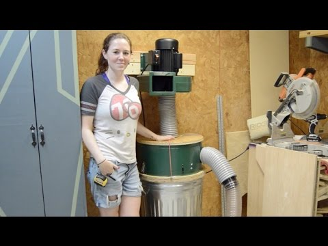 Modify a Harbor Freight Dust Collector