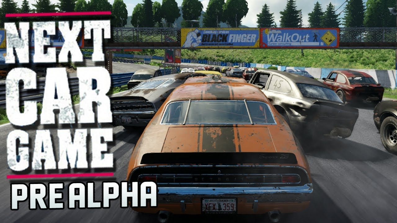 The Next Car Game Pre Alpha