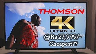 """Thomson 43"""" UHD LED TV 