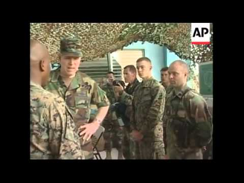 US Joint Chief of Staff checks on peacekeeping mission