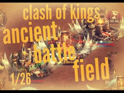 [clash of kings]1/26 3th ancient battle field