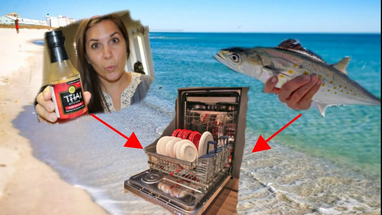 How to cook fish in a dishwasher spanish mackerel with for Cooking fish in dishwasher
