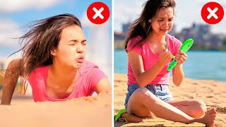 33 GENIUS LIFE HACKS TO SAVE YOU FROM AWKWARD MOMENTS || Fun Tricks to Survive Troubles