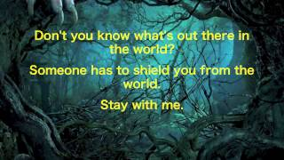 stay with me into the woods lyrics 2014