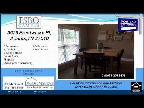 3 bedroom house for sale near Sango Elementary School in Adams TN