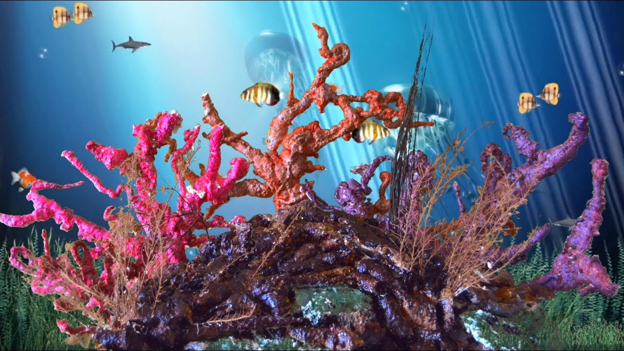 Diy Expandable Spray Foam Coral Reef Decoration For An