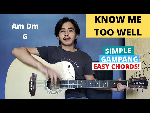 Chord Simple Gampang Know Me Too Well New Hope Club Tutorial Gitar Easy Chords Youtube