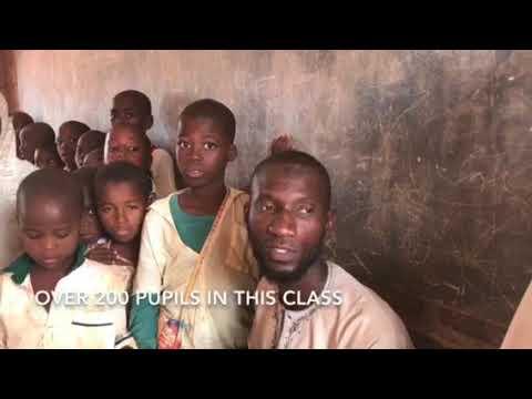 OVERPOPULATION IN KADUNA PRIMARY SCHOOL.