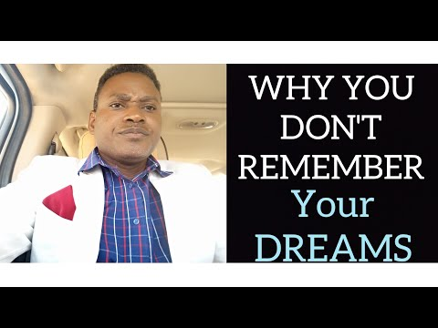 WHY YOU DON'T REMEMBER YOUR DREAMS! from YouTube · Duration:  13 minutes 7 seconds