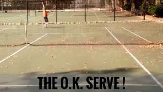 Ways to Serve in Tennis: 2 Bad Ones and 1 O.K. One