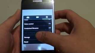 samsung galaxy s4 how to reset camera settings back to factory default