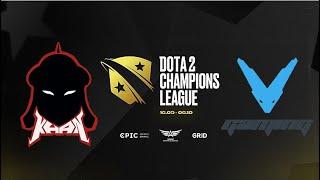 DOTA 2 RU Khan Esports vs V Gaming Bo3 D2CL 2021 S4 Playoff Lower Bracket Round 3