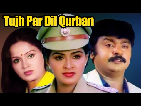 Tujh Par Dil Qurban (Ullathil Nalla Ullam) | Vijayakanth | Tamil Hindi Dubbed Movie