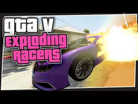 GTA 5 Online - Exploding Racers (GTA Custom Games)