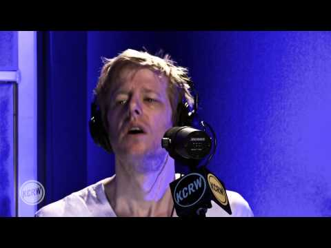 """Spoon performing """"Inside Out"""" Live on KCRW"""