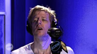 "Spoon performing ""Inside Out"" Live on KCRW"