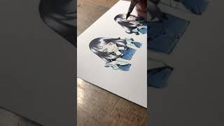 【作画動画】パンジャ彩色
