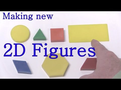 Make New Figures -  Two Dimensional  / 2D Shapes from Learning Adventures