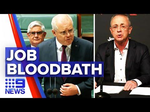 Coronavirus: Major Aussie Companies Announce Job Cuts | 9 News Australia