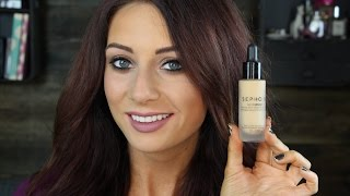 Sephora Teint Infusion Ethereal Natural Finish Foundation First Impression