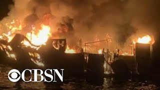 California dive boat captain charged with 34 counts of manslaughter in deadly fire