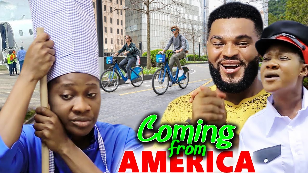 Download Coming from America full movie #trending #latest Nollywood movies  MERCYM JOHNSON MOVIES