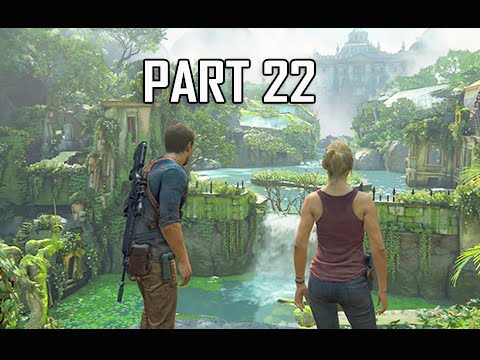Uncharted 4 A Thief's End Walkthrough Part 22 - New Devon (Let's Play Commentary)