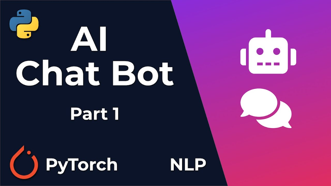 Chat Bot With PyTorch - NLP And Deep Learning - Part 1