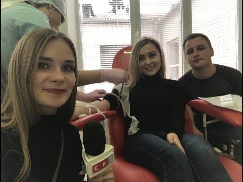Телеканал СК1 взяв участь у челенджі із здачі крові хворій дівчинці