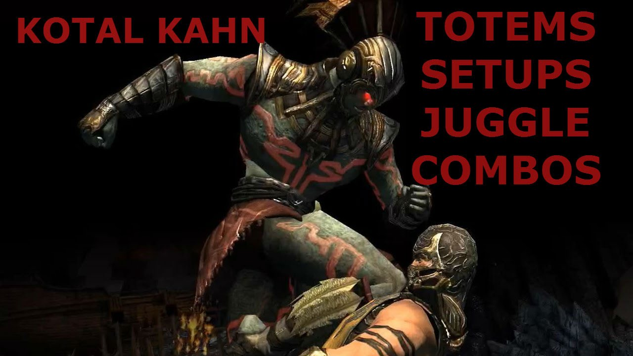 mkx kotal kahn new totems basic setups bnb combos by hro youtube. Black Bedroom Furniture Sets. Home Design Ideas