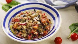 Вкуснейший салат из баклажанов. Простой и ВКУСНЫЙ рецепт
