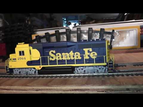 as is parts repair ho walthers life like diesel with sound does not run santa fe