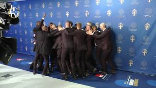 AIK firar sitt SM guld på fotbollsgalan!