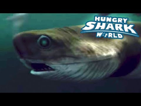 Cookie Cutter Shark!!! - Hungry Shark World | Ep 62 HD
